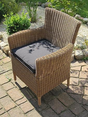 Amazonde Bomey Sessel Stuhl Gartenmöbel Rattan Polyrattan Geflecht