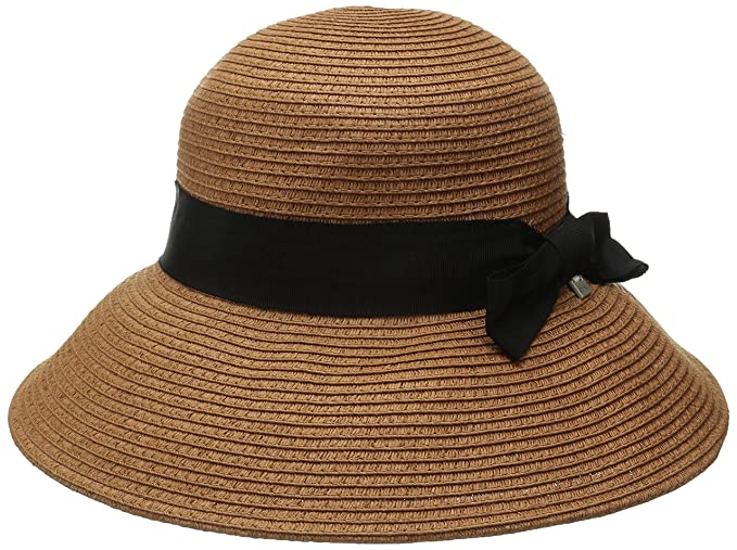 Coal Women s The Loretta Bell-Shaped Straw Hat with Ribbon at Amazon ... 30bae8a5698a