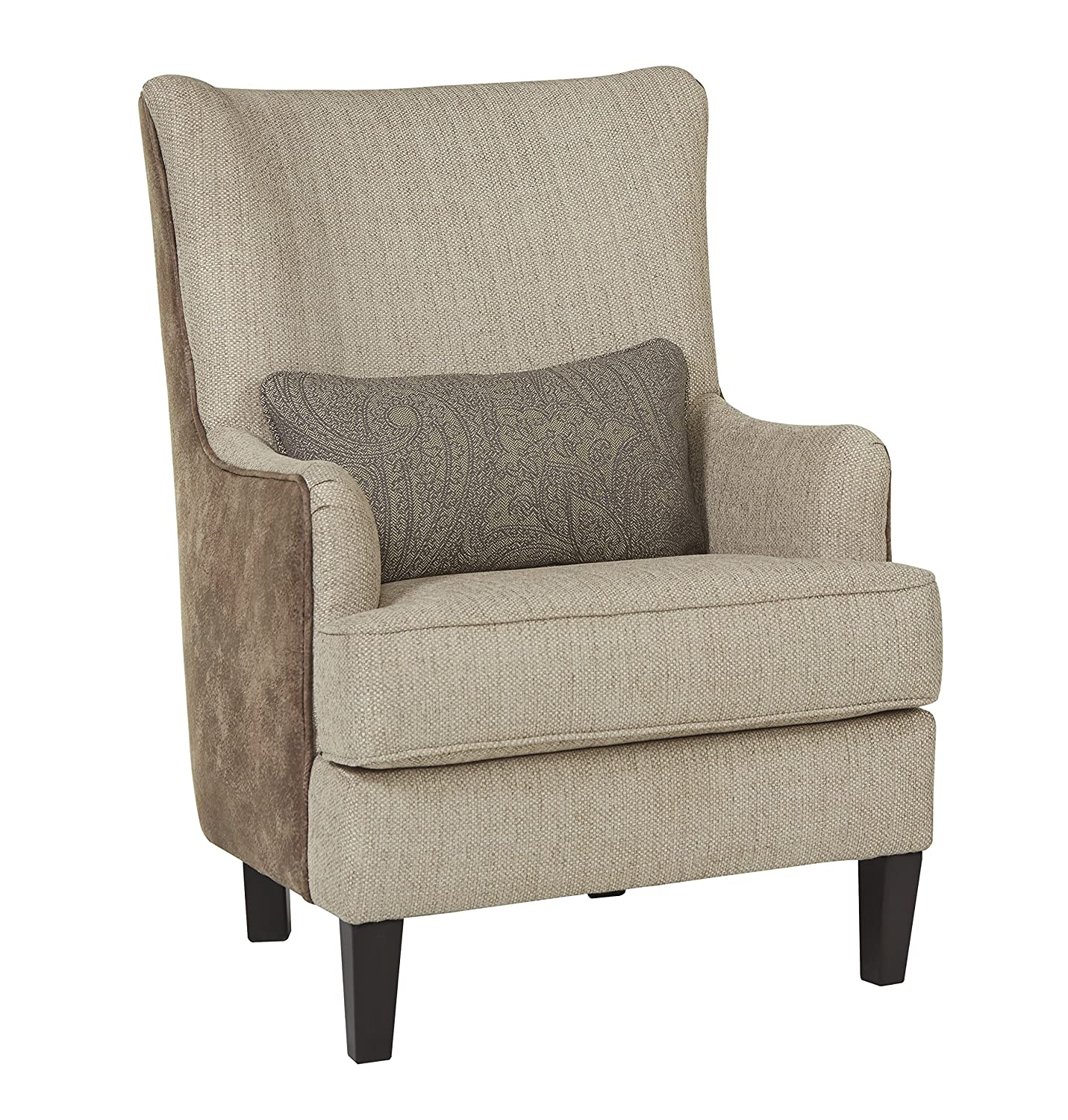 Amazon com ashley furniture 4110121 baxley accent chair jute kitchen dining