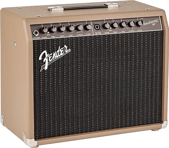 Fender Acoustasonic 90 amplificador para guitarra acústica: Amazon.es: Instrumentos musicales