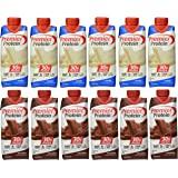 Premier Protein 6 Chocolate and 6 Vanilla Shakes 11oz (pack of 12)