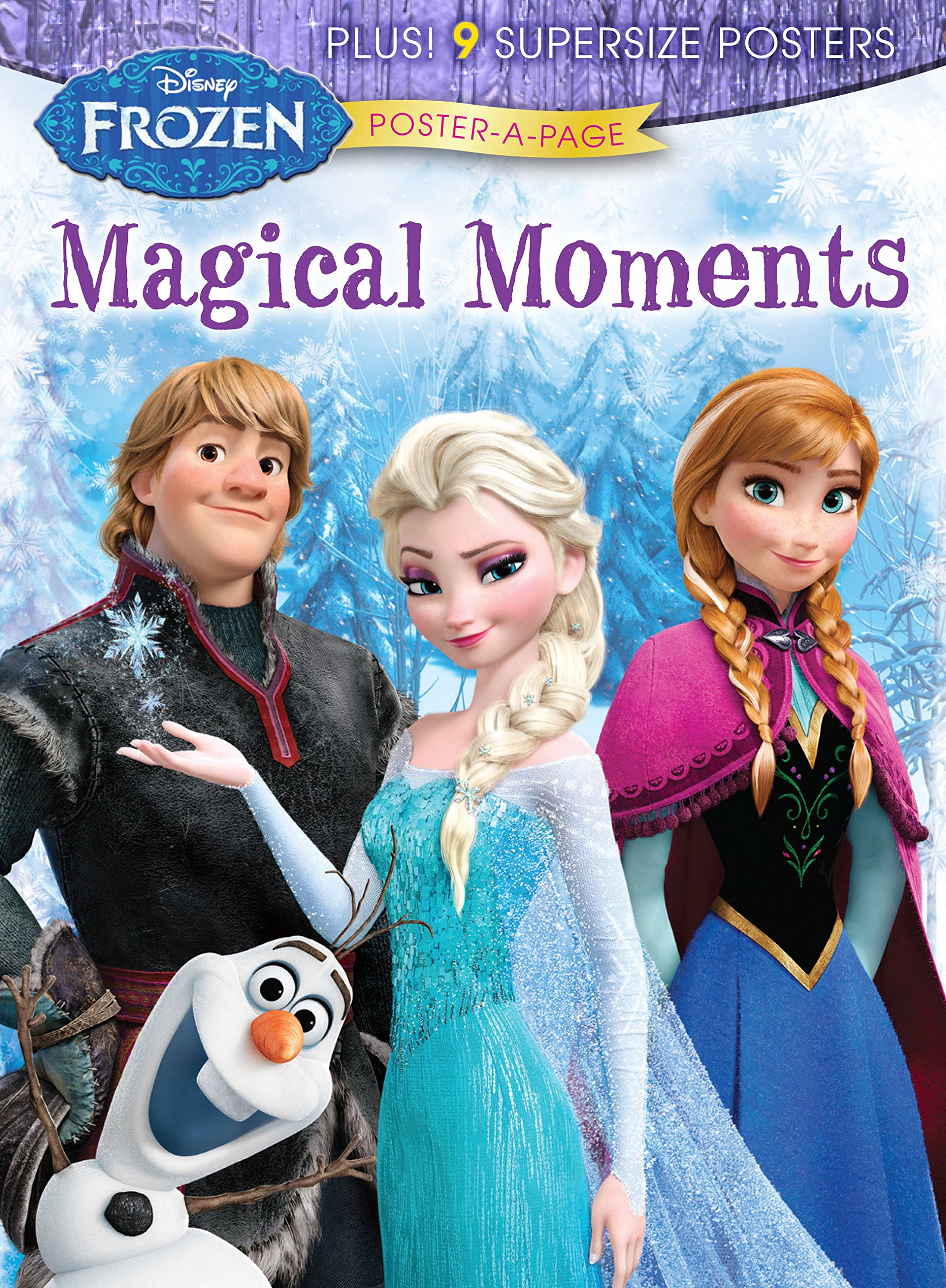 Disney Frozen: Magical Moments Poster-A-Page (Disney Frozen Poster-a-page) pdf