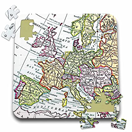 Map Of Western France.Amazon Com Inspirationzstore Vintage Maps Vintage European Map Of