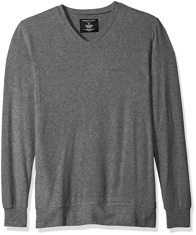 Kenneth Cole New York Men's Long Sleeve V-Neck RNM2603