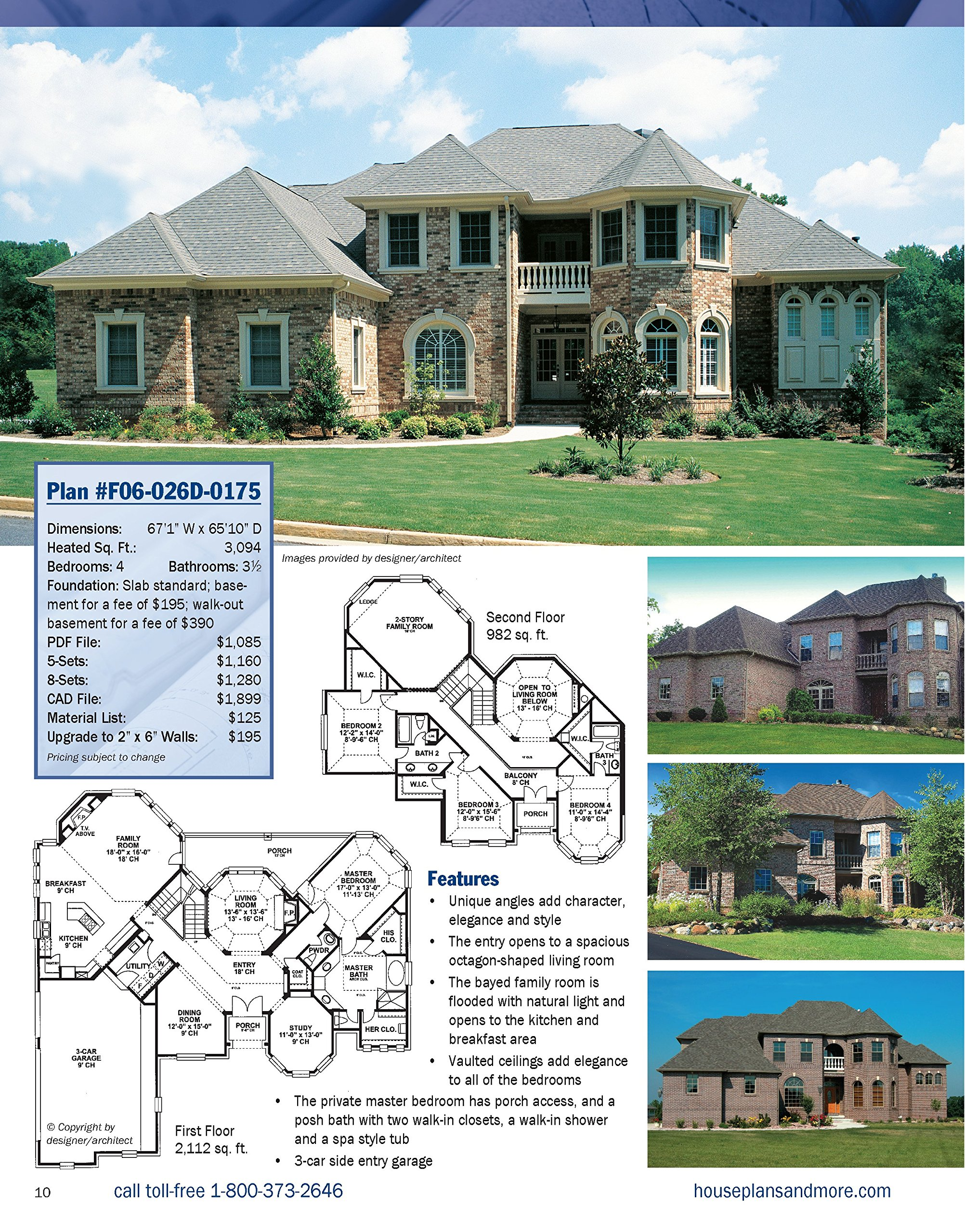 Best-Selling House Plans, Completely Updated & Revised 3rd Edition ...