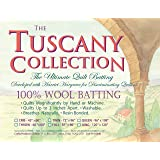 "Hobbs TW72 Batting Tuscany Washable Wool, 72"" x 96""/Twin"
