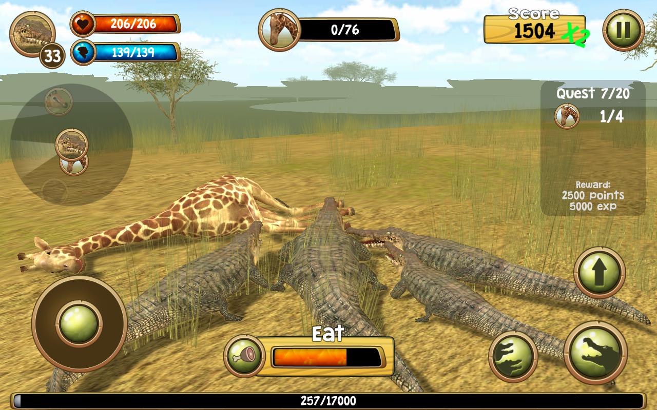 Amazon.com: Wild Crocodile Simulator 3D: Appstore for Android