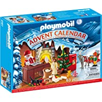 Playmobil 4161 - Ufficio Postale Babbo Natale, Calendario dell'Avvento