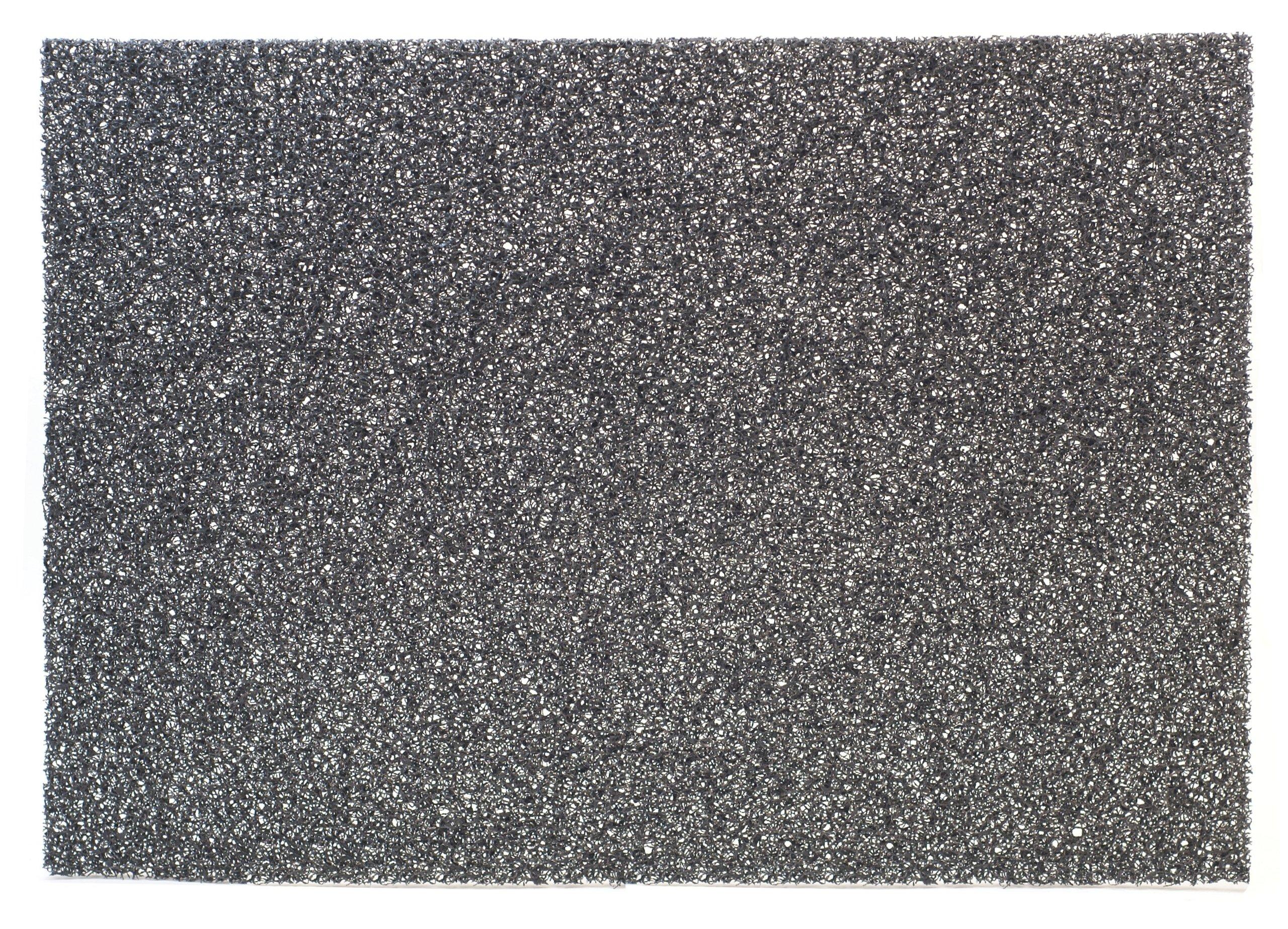 3M Black Stripper Pad 7200, 20'' x 14'' (Case of 10)