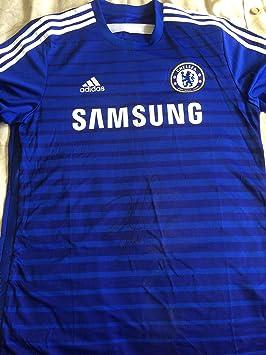 Chelsea firmado camiseta de fútbol con COA 2014 camiseta - Azul: Amazon.es: Jardín