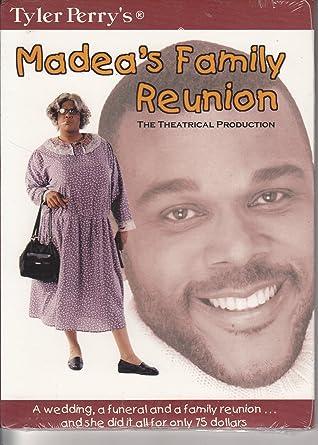 Amazon.com: Madea\'s Family Reunion - The 2002 Stage Production ...