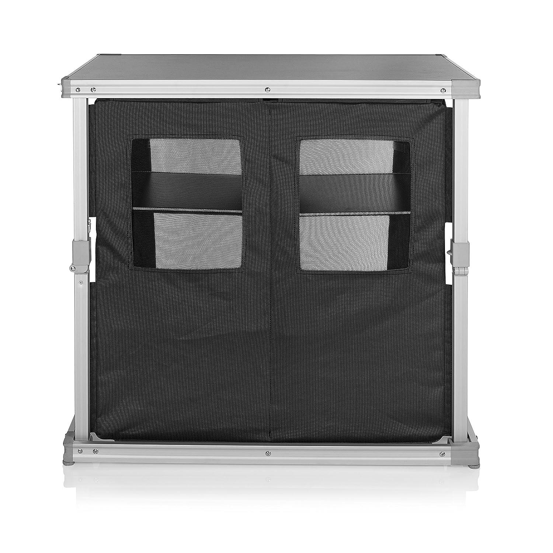 CAMPART TRAVEL Cocina de Camping Toledo KI-0758 - Seis Compartimentos - Fácil de Llevar a Todas Partes: Amazon.es: Deportes y aire libre