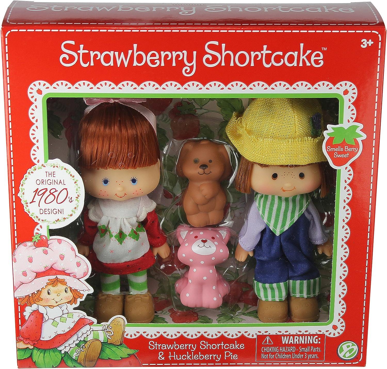 Amazon Com The Bridge Direct Strawberry Shortcake Huckleberry Pie Doll Toys Games