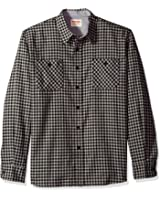 Wrangler Mens Authentics Long Sleeve Flannel Shirt