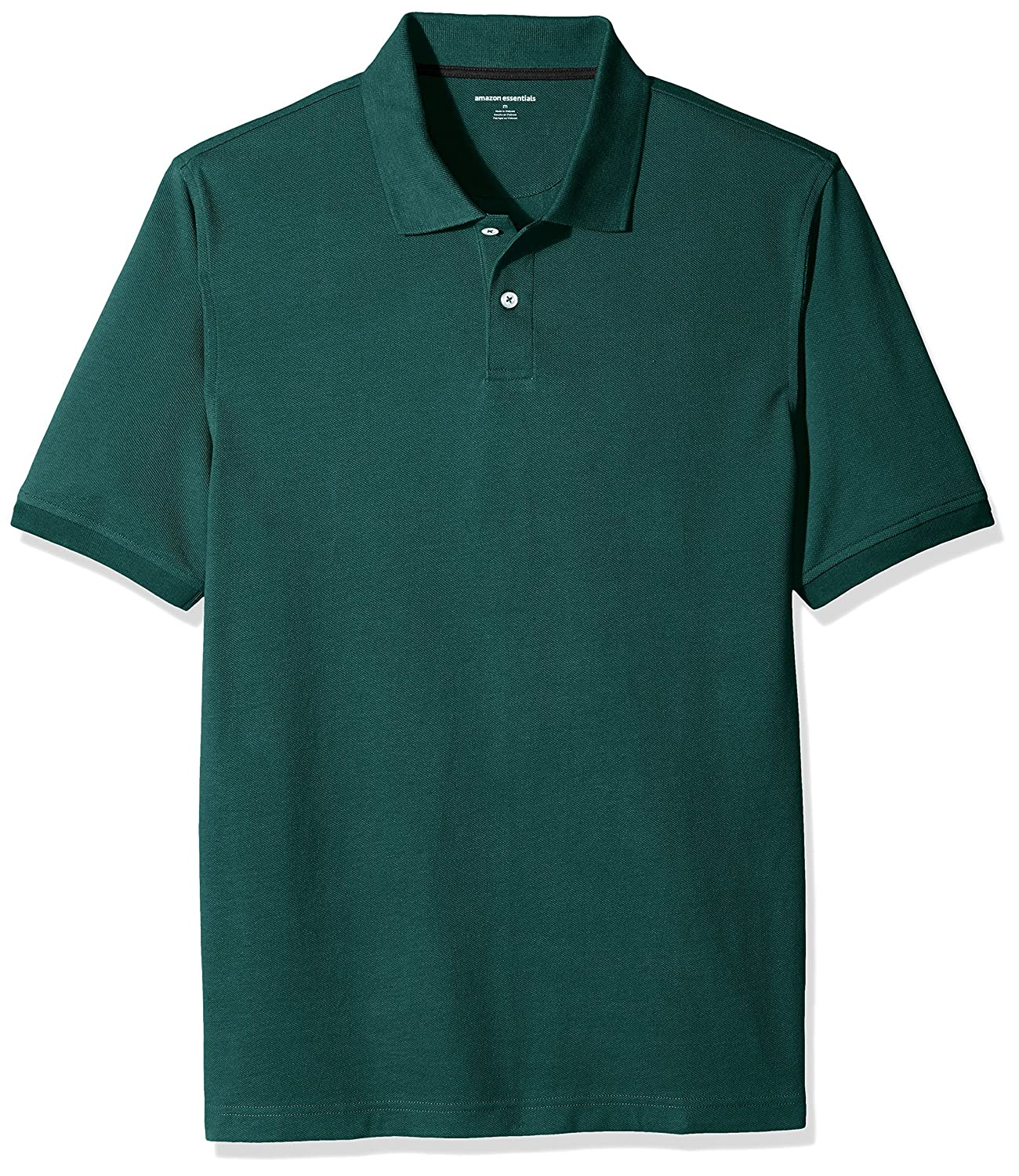 Amazon Essentials Men's Regular-Fit Cotton Pique Polo Shirt F16AE40000