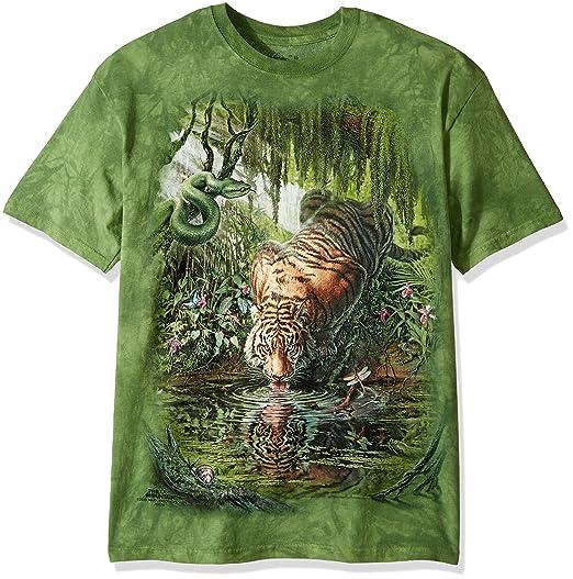 Amazon.com  The Mountain Men s Enchanted Tiger T-Shirt  Clothing 1daf5060e7fa