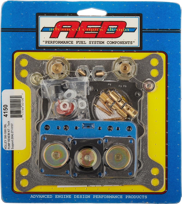 AED 4150 Ultimate Holley Double Pumper Carburetor Kit