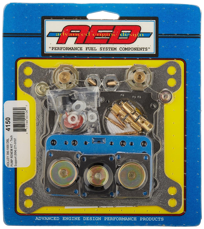 AED 4150 Ultimate Holley Double Pumper Carburetor Kit KEYU1