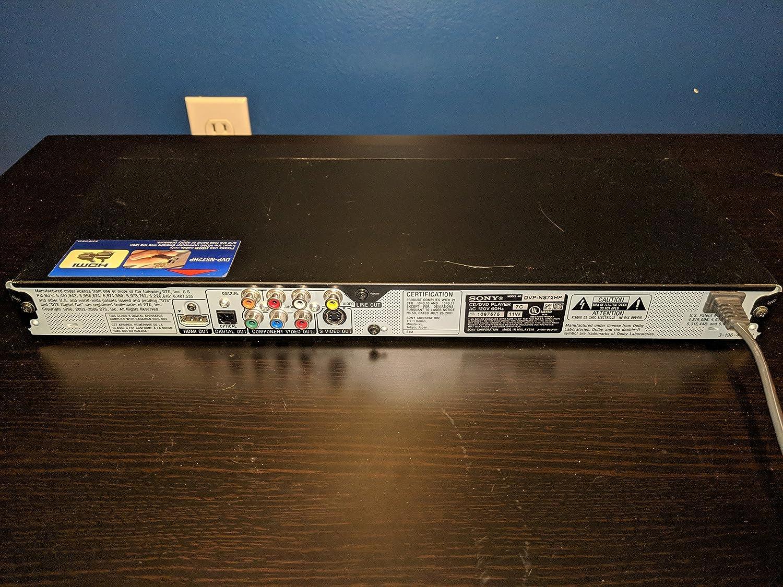amazon com sony dvp ns72hp single disc upscaling dvd player black rh amazon com Sony Dcr Sony DVD Player