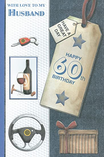 Amazon with love to my husband on your 60th birthday card with love to my husband on your 60th birthday card bookmarktalkfo Gallery