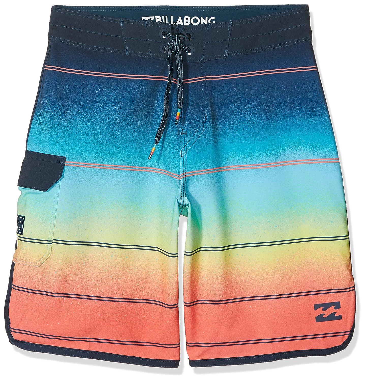 Pantalones Cortos Playa Nino Billabong 73 X Stripe 16 5 Deportes Acuaticos Ropa Especializada
