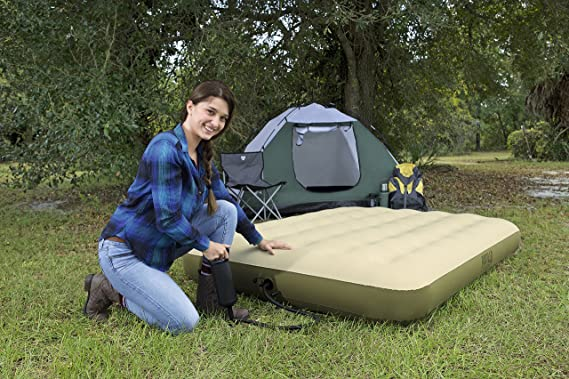 Bestway 69022 pavillo fortech cama de aire Trek camping-cama colchón de aire COMFORT