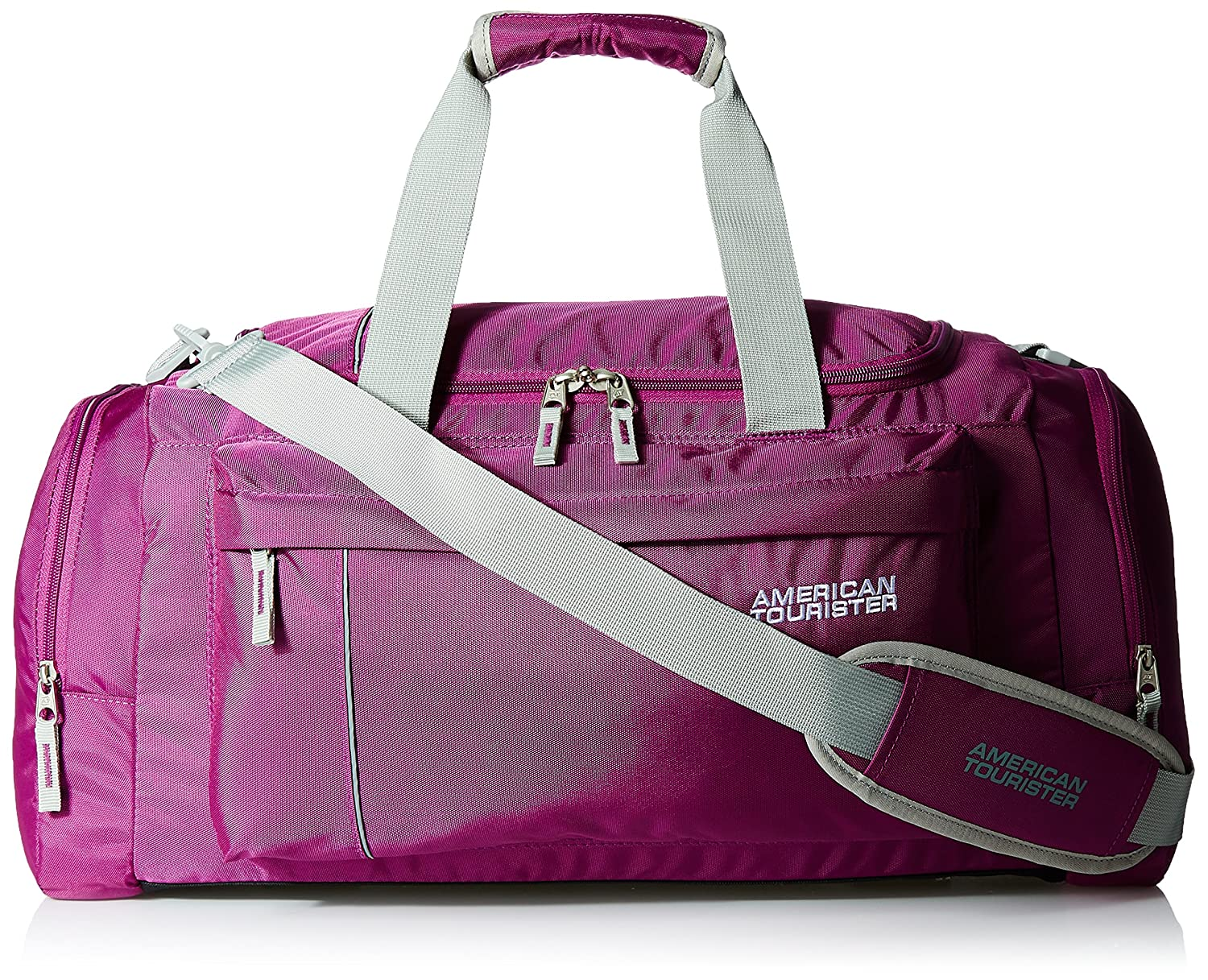 American Tourister Fabric Magenta Gym Bag (X-Bags Casual 2)