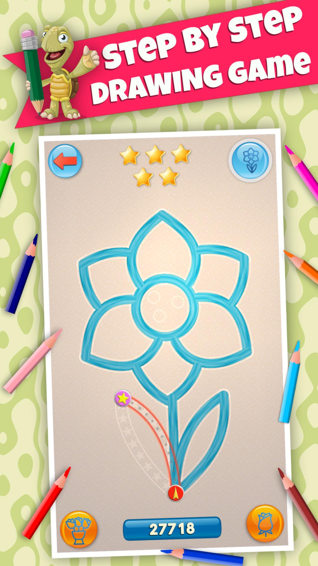 BeeArtist PRO - Dibujos para Niños. Juego de dibujo. uego para ...