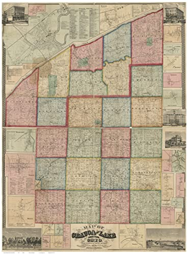 Amazon.com: Geauga & Lake Counties Ohio 1857 - Wall Map with ... on mercer county, jackson county, jefferson county, lake county, stark county map, fairfield county, lorain county, montgomery county, ashtabula county, portage county map, cuyahoga county, portage county, muskingum county map, tuscarawas county map, mahoning county map, lake county map, marion county, lincoln county map, delaware county, crawford county map, clark county, franklin county, fayette county, cuyahoga county map, trumbull county, summit county, putnam county map, johnson county map, summit county map, ohio map, monroe county, albany county map, chardon map, shelby county map, auglaize county map, columbus map, trumbull county map, franklin county map,