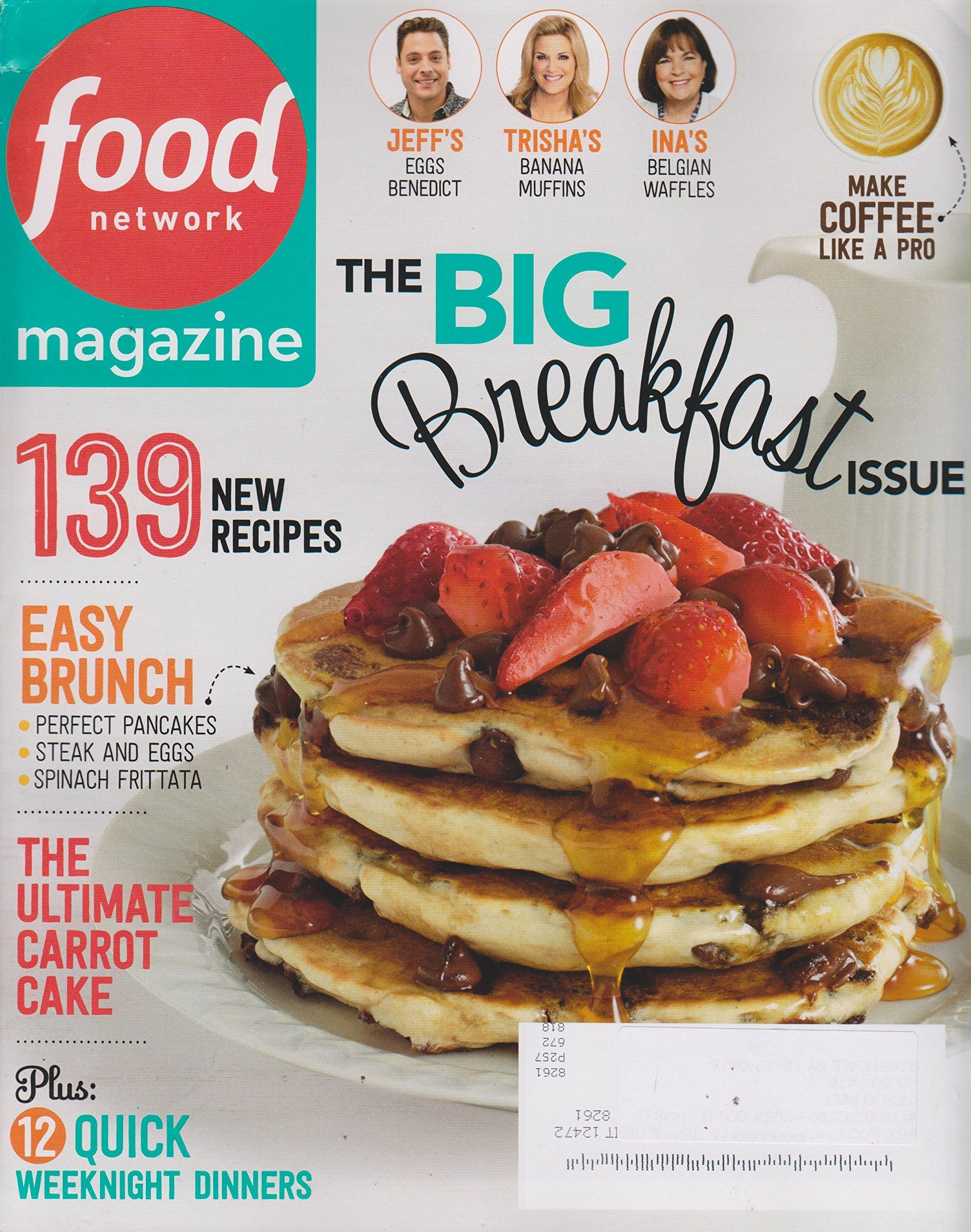 Food network magazine april 2015 the big breakfast issue amazon food network magazine april 2015 the big breakfast issue amazon books forumfinder Choice Image