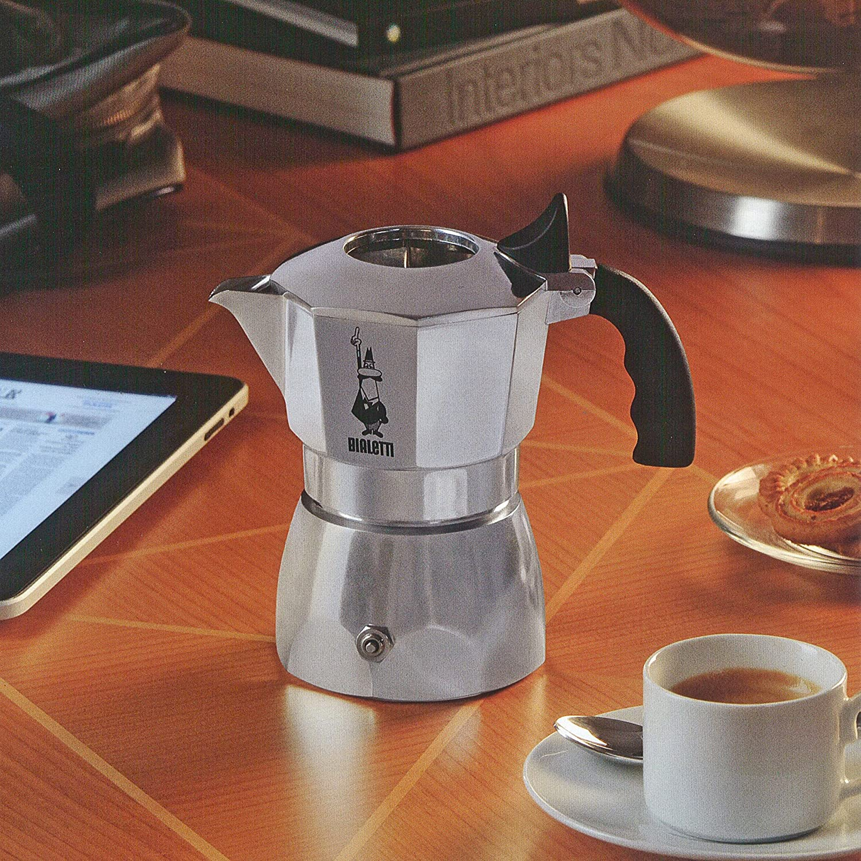 Bialetti - 6188 - Brikka - Cafetière Italienne en Aluminium - 2 ...