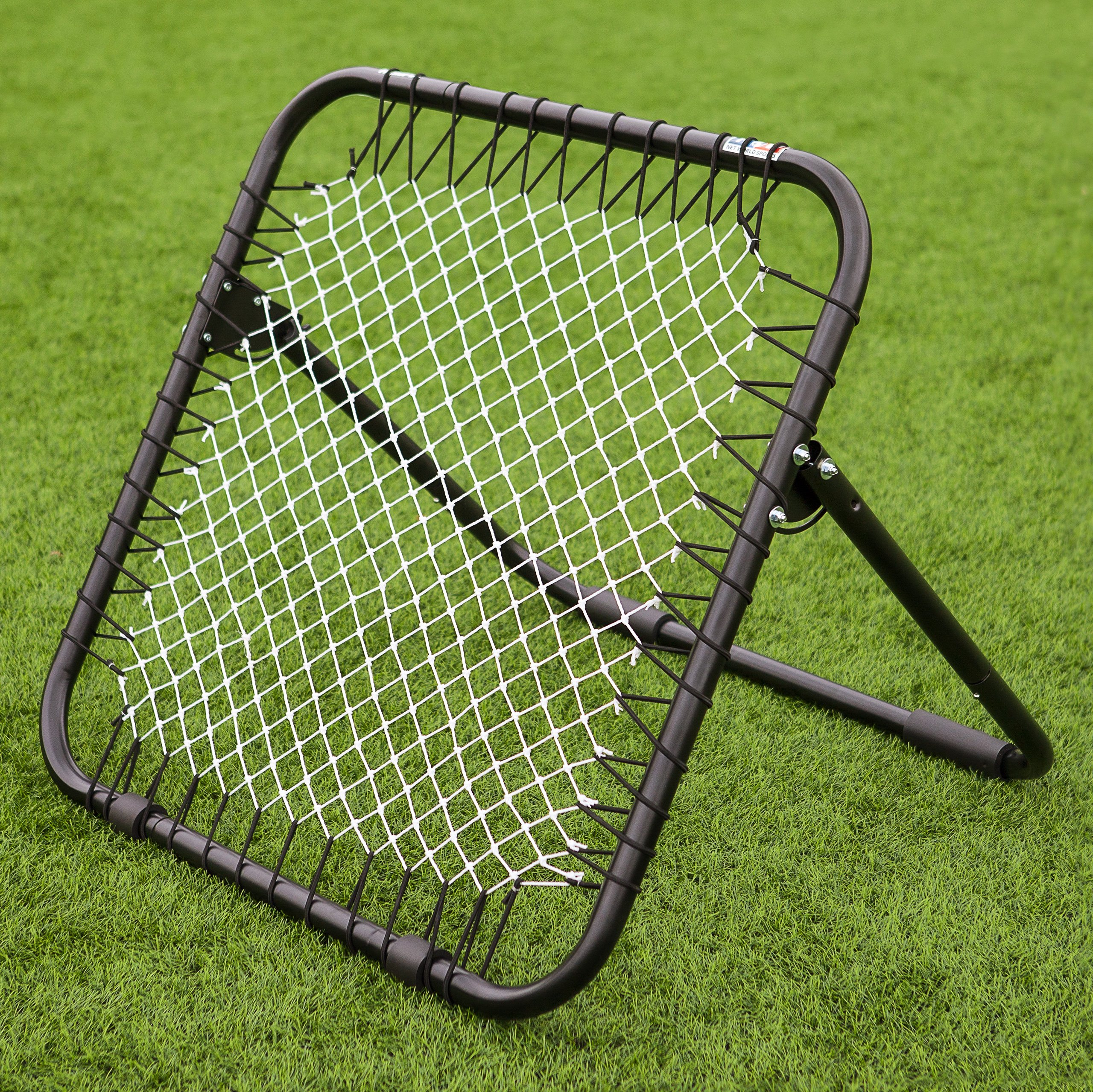 RapidFire Cricket Rebound Net - [Single Sided] - The Perfect Catching Practice Tool - [Net World Sports]