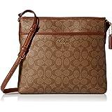 Coach Signature File Crossbody Bag Purse Handbag