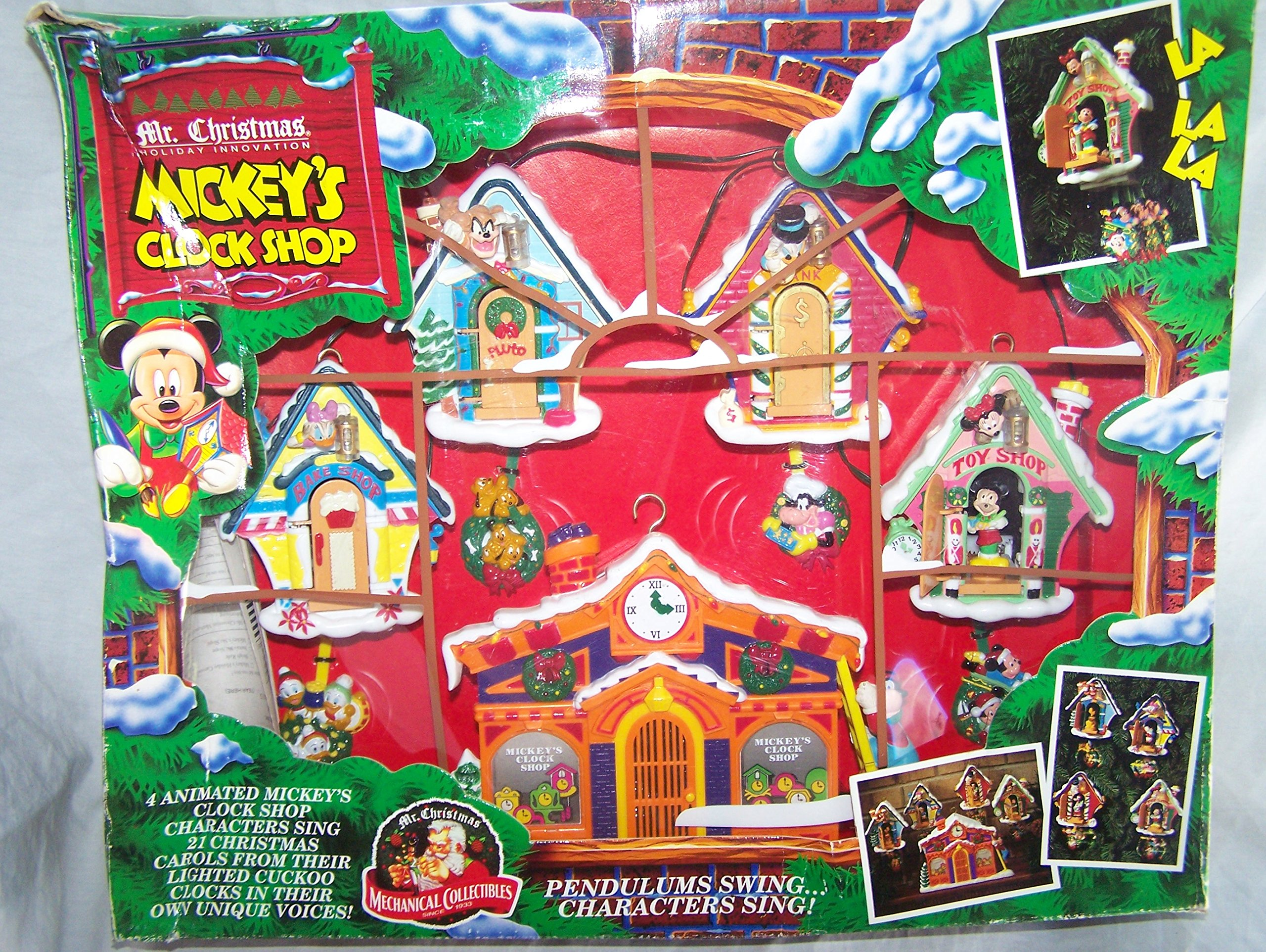 Mr. Christmas Mickey's Clock Shop by Mr. Christmas by Mr. Christmas