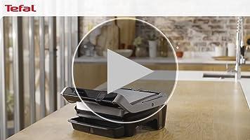 Tefal Optigrill Elite GC750D Grill parrilla eléctrica interior y exterior, sensor grill automático, sellado rápido, 12 programas automáticos, apto para lavavajillas, antiadherente, función sandwichera: Amazon.es: Hogar