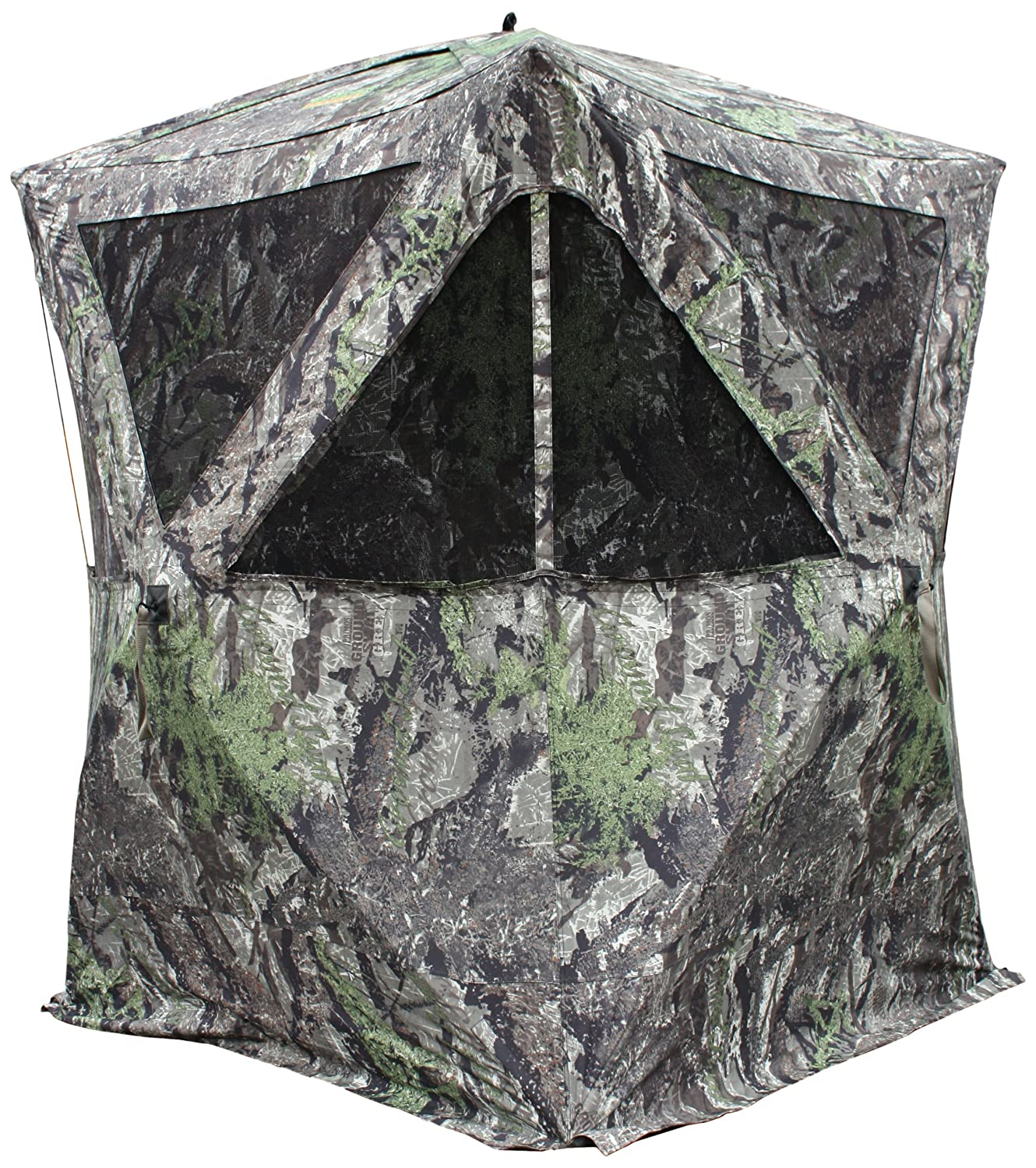 concealment for ground success blinds hunting pin blind tips