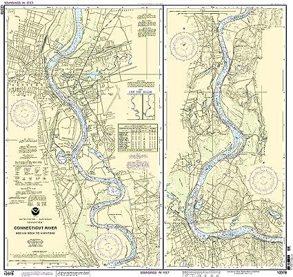 Amazon.com: 12378 -- Connecticut Río – Bodkin Rock A ...