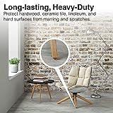 SoftTouch 4218595N Self Stick Round Felt Furniture
