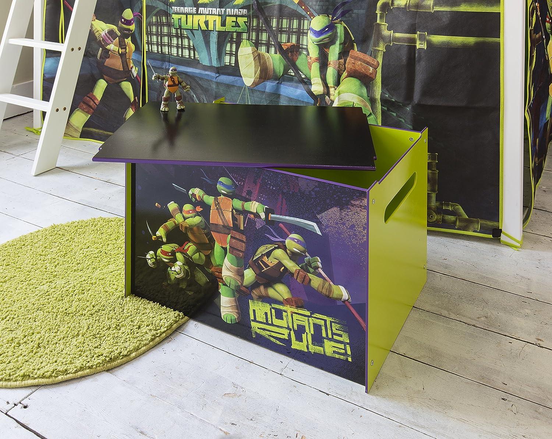 Caja de Juguete Tortugas TMNT Teenage Mutant Ninja Turtles ...