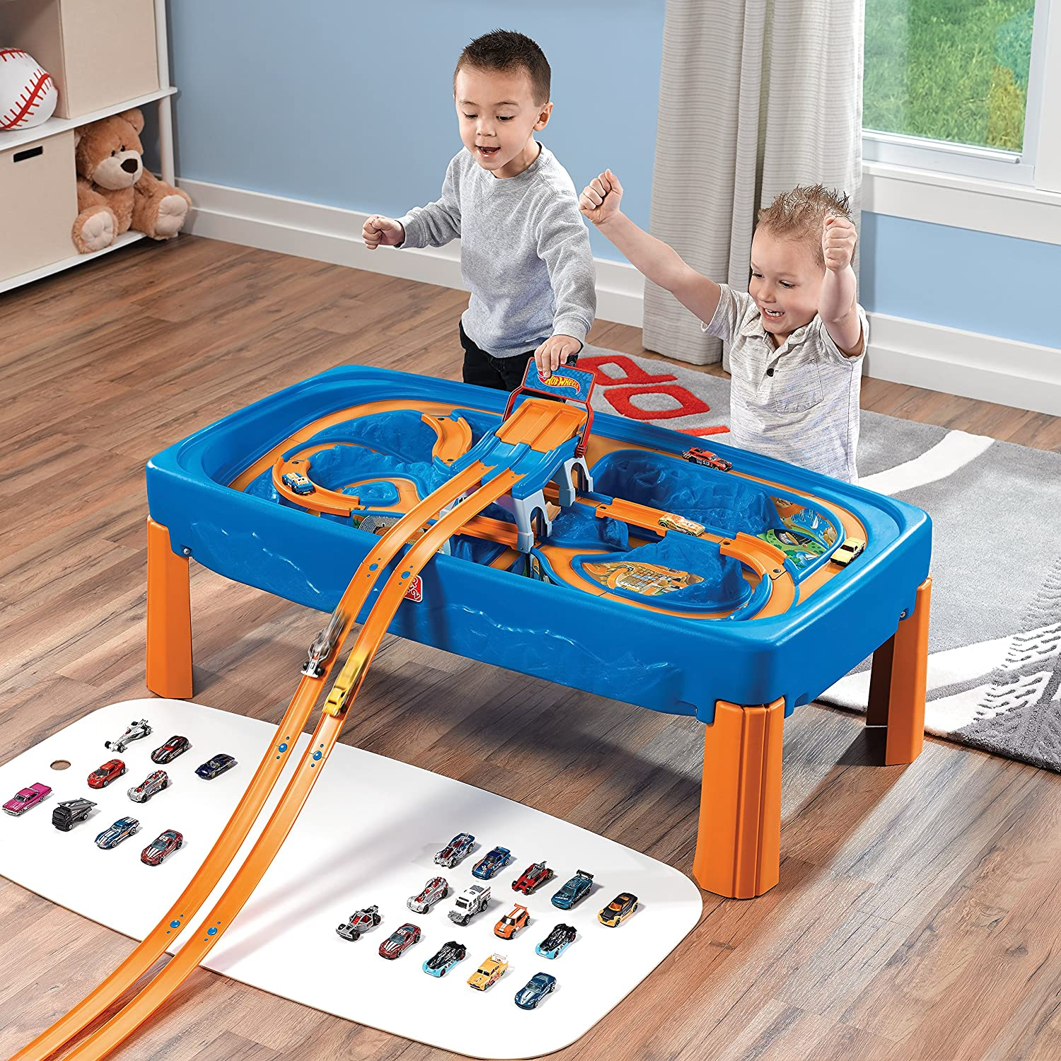 Amazon Step2 Hot Wheels Car & Track Play Table Toys & Games