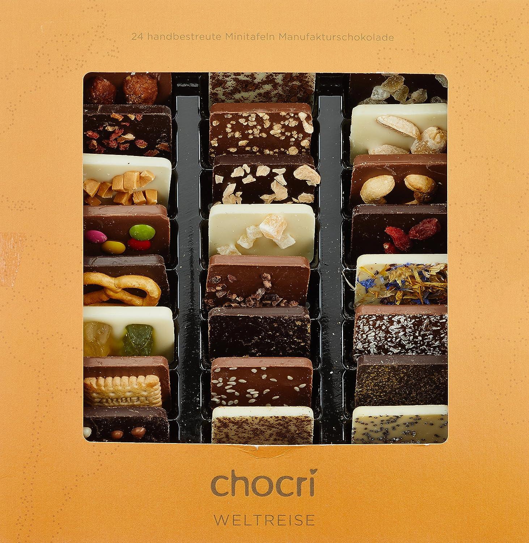 Schokoladen Weltreise Geschenkidee