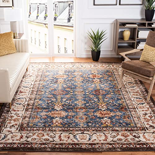 Reviewed: Safavieh Bijar Collection BIJ650B Traditional Oriental Distressed Non-Shedding Stain Resistant Living Room Bedroom Area Rug