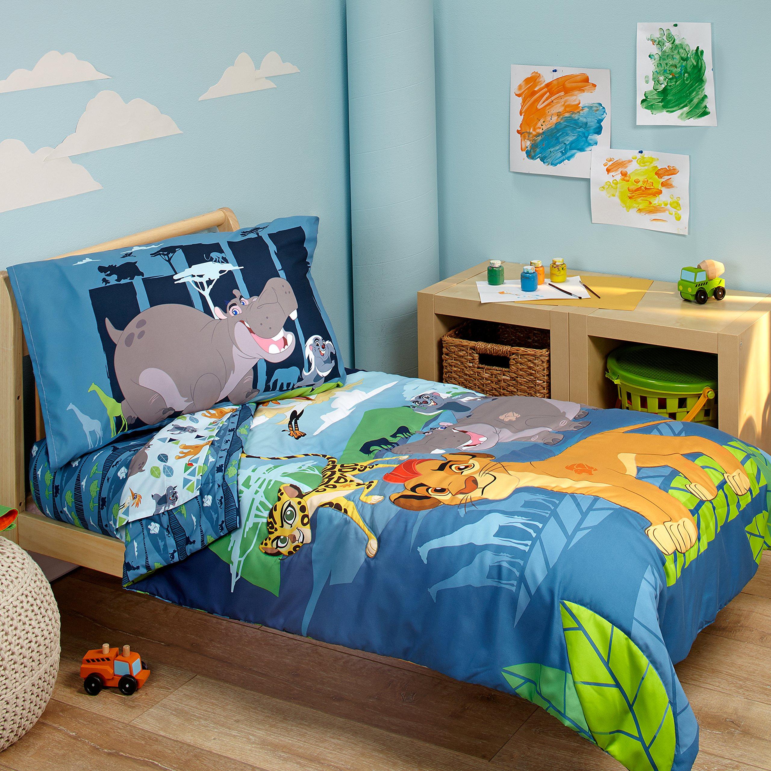 Disney Lion Guard Prideland Adventures 4 Piece Toddler Bedding Set