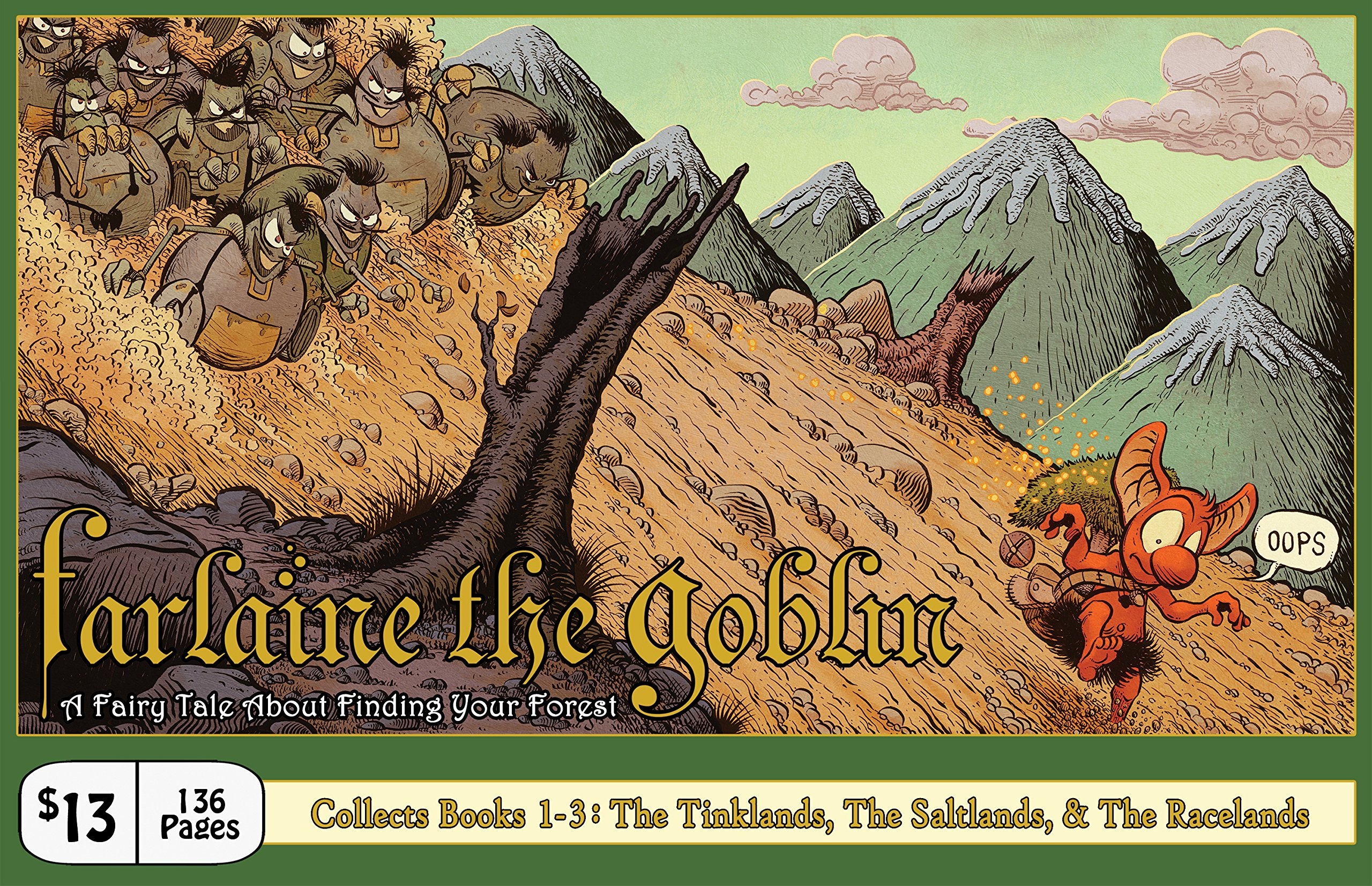 Read Online Farlaine the Goblin, Books 1-3: The Tinklands, The Saltlands, & The Racelands PDF