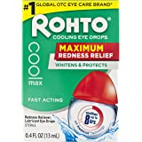 Rohto Maximum Redness Relief, 0.4 Fluid Ounce