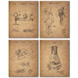 Amazon Price History for:Space Patent Prints - Set of Four Vintage Wall Art Photos