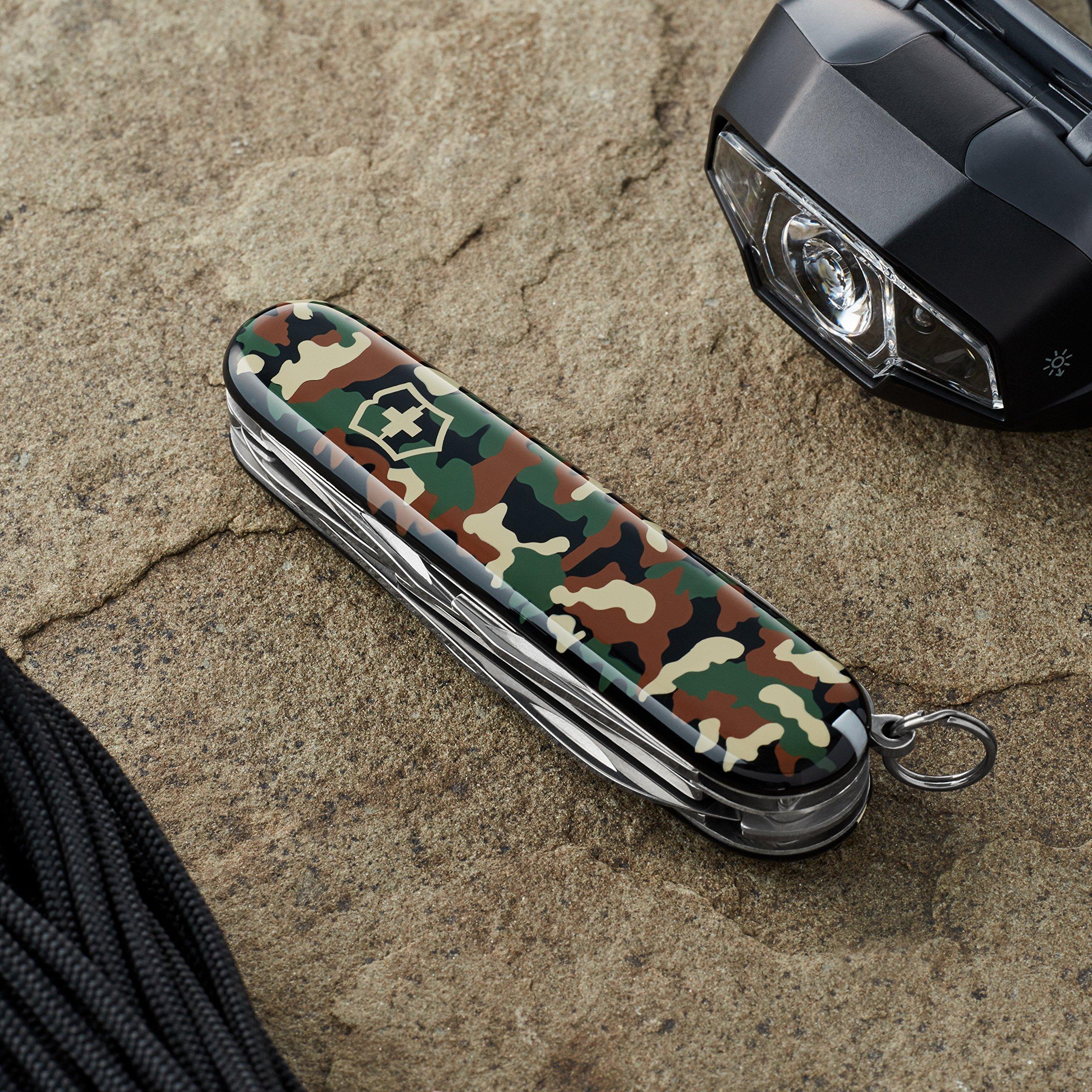 Victorinox Swiss Army Climber Pocket Knife, Camouflage, 91mm