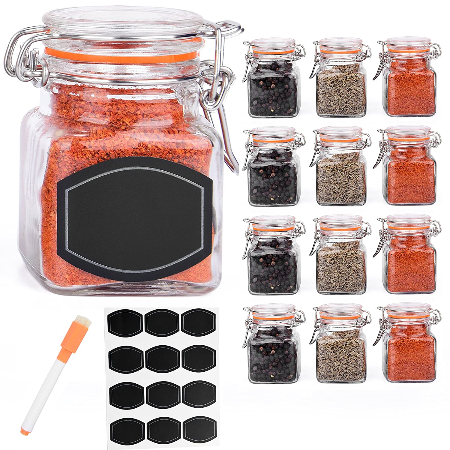 ultimate hostess flip top spice jars ultimate hostess