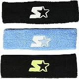 Starter Adult Unisex 3-Pack Headband, Amazon Exclusive