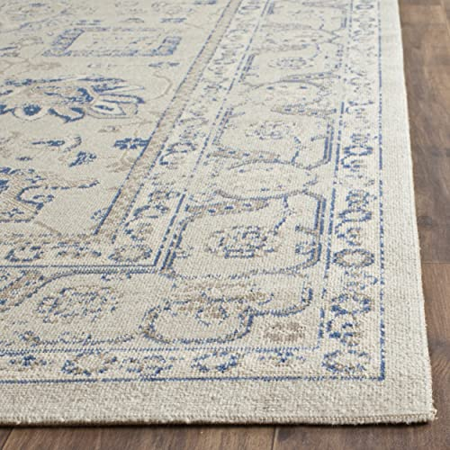 Safavieh Patina Collection PTN326G Grey Cotton Area Rug 3 x 5